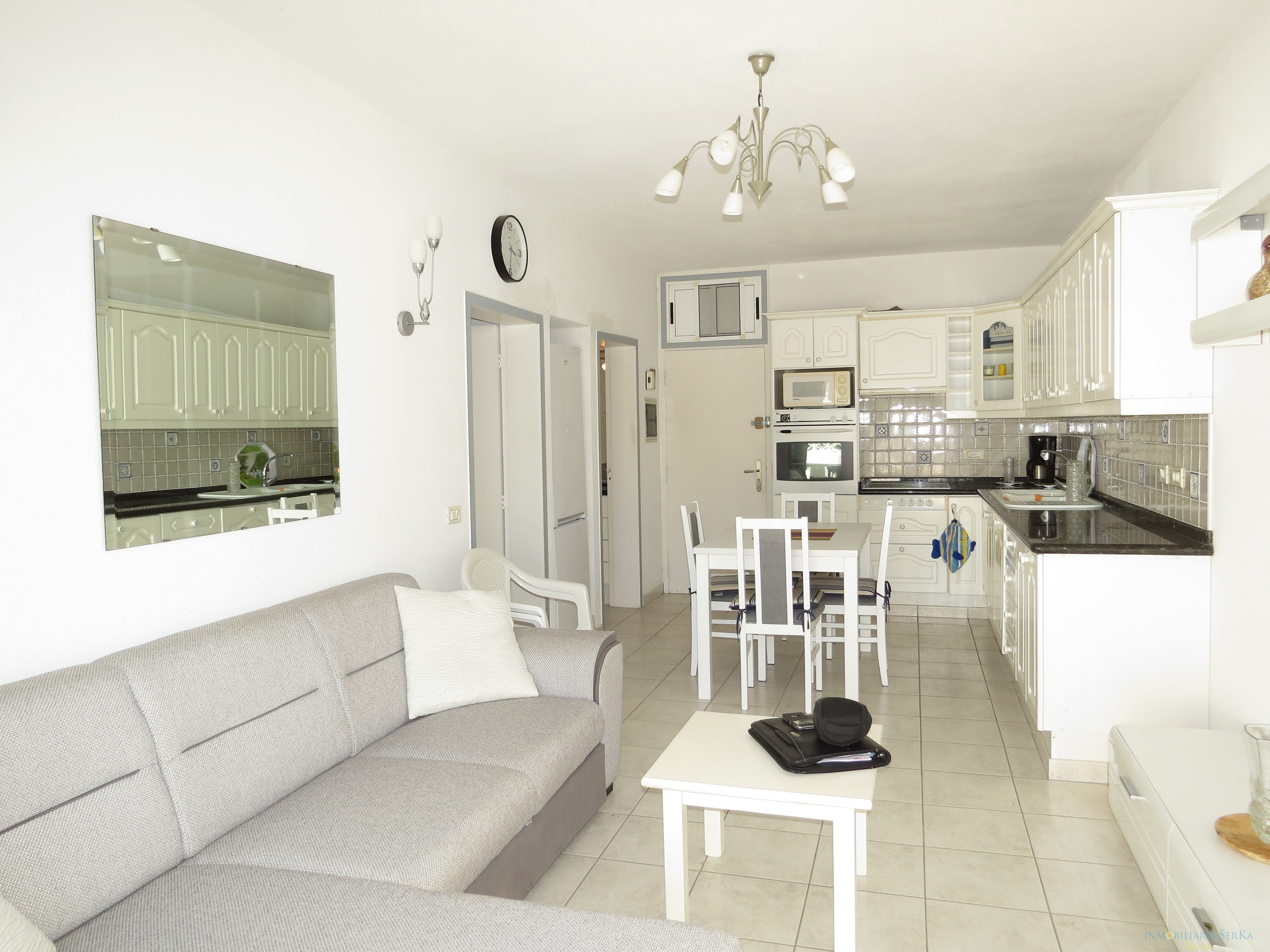 Renovated apartment with large terrace